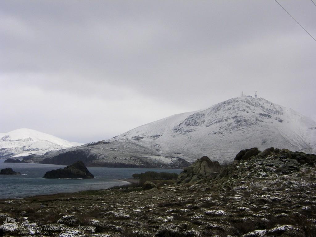 Άγιος αθανάσιος -2012 χιόνια στη λήμνο